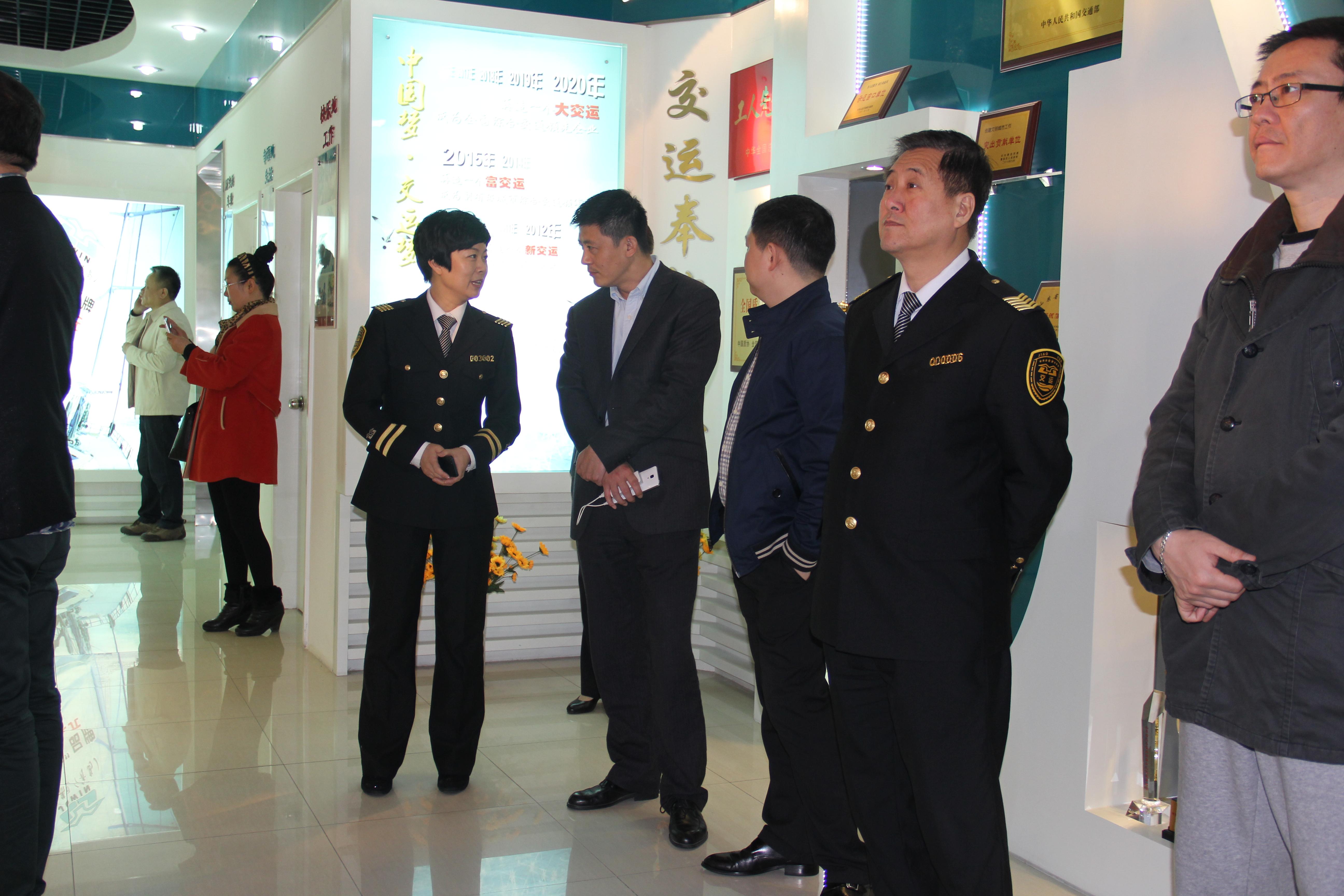 我公司总经理王柏强赴山东临沂,青岛一带知名企业参观
